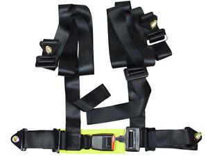 CLOSEOUT-NRG-BLACK-4-POINTS-SEAT-BELT-HARNESS
