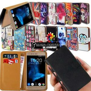 newest 50d78 efbfb Details about For Various InFocus Mobile Phones Leather Smart Stand Wallet  Case Cover