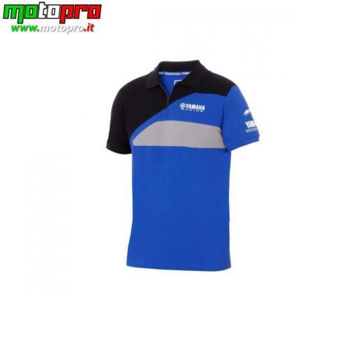 YAMAHA Polo uomo Paddock Blue Race BLU/NERA