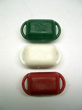 Set of 3 American Flyer Mailbags for 718 & 918 S & O gauge Mail Cars