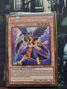 Yugioh Blackwing Kris The Crack of Dawn PGL2 Gold Secret Rare 1st EdNM//M