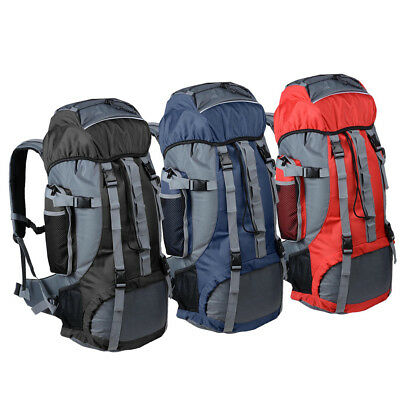 MOYAOCHEN 70L Outdoor Sports Camping Hiking Waterproof Backpack Mountaineering Bag Travel Hiking Strong Load-Bearing Scratch-Resistant Comfortable Carrying