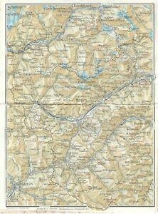 La Cartina Del Piemonte.Alta Val Di Susa E Del Chisone Piemonte Carta Geografica Touring Club 1961 Ebay