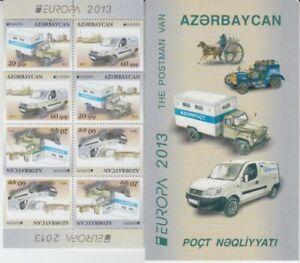 D-Europe-Cept-2013-Azerbaijan-Markenheft-MNH