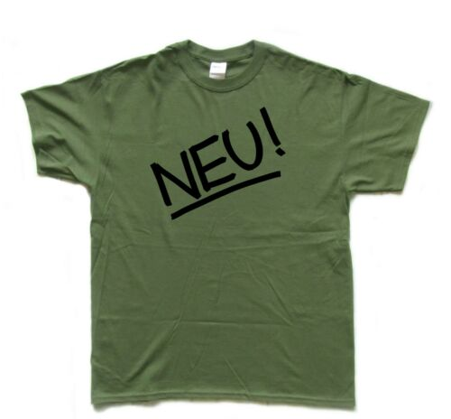 NEU German Krautrock screenprinted T SHIRT