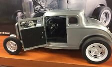 BEST PRICING ACME 1:18 1932 HAMMERED STEEL FORD 5 WINDOW A1805013 CASE NEW