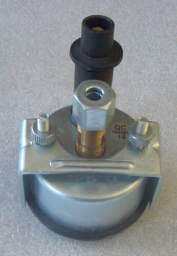 Öldruckmanometer mechanisch Einbaumaß 52 mm Beleuchtung Traktor Schlepper  61116
