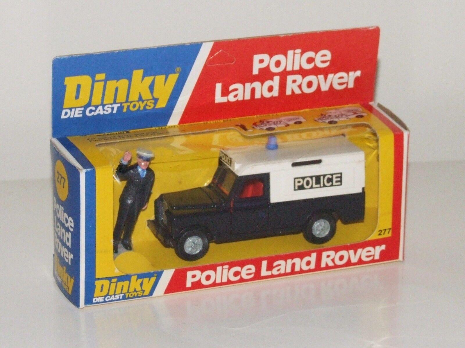 Dinky 277 policía Land Rover