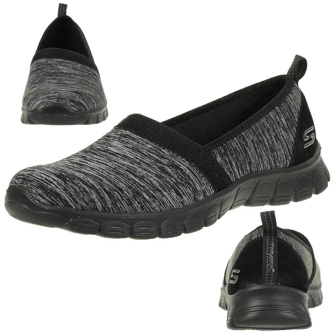 Skechers Ez Flex 3.0 Swift Mouvement Femmes Chaussures D'Été Mocassins BBK