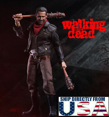 Vendeur 1//6 negan figurine Set Complet Lucille for the walking dead U.S.A