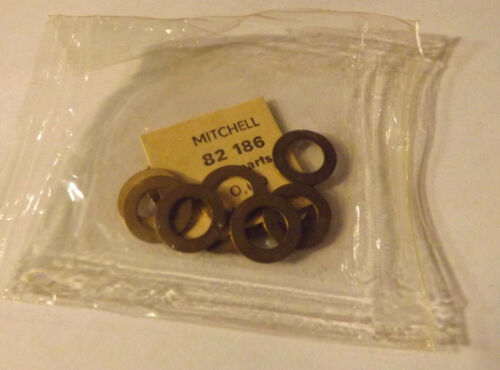12 New Old Stock Mitchell 204 204S 5540 Fishing Reel Shim Washers 82186 .50 NOS