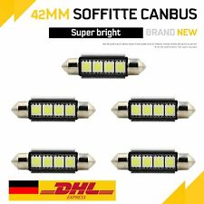 10x 31mm Soffitte COB LED Innenraum Lampe Beleuchtung Kennzeichenbeleuchtung #D