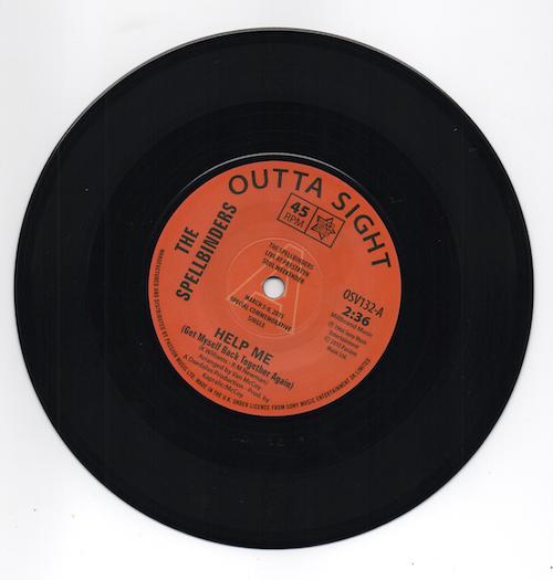 "THE SPELLBINDERS Help Me / Chain Reaction NEW NORTHERN SOUL DEMO 45 60s 7"" Vinyl"