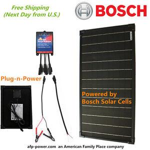 Bosch Plug N Power Kit 30w 30 Watt Mono Solar Panel