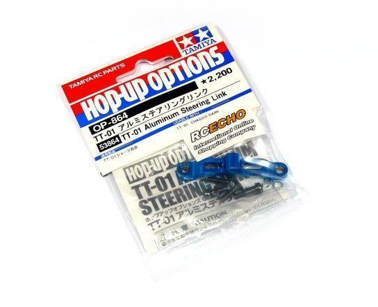 Tamiya Hop-Up Options TT-01 Aluminum Steering Link OP-864 53864
