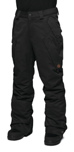 2018-MENS-THIRTYTWO-ROVER-SNOWBOARD-PANTS-XL-Black-cargo-Lightly-Used
