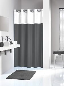 Image Is Loading Extra Long Hookless Shower Curtain 72 X 78