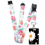 FLOWERS-Standard-size-ID-badge-holder-and-lanyard-neck-strap-holder-SPIRIUS thumbnail 26