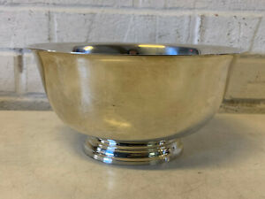 Tiffany-amp-Co-Sterling-Silver-23618-Revere-Style-Center-Bowl