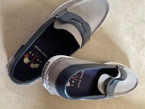 Cole-Haan-Men-039-s-Nantucket-Loafer-II-Size-9M-Blue-Chestnut