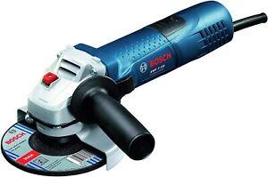 Amoladora-Angular-Radial-Bricolaje-Bosch-GWS-7-125-Con-Juego-de-5-Discos