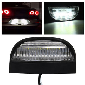 2PCS-4-LED-License-NUMBER-PLATE-LIGHT-TRUCK-TRAILER-VAN-UTE-CARAVAN-10-30V-LAMP
