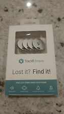 4 Pack TrackR Bravo Bluetooth 4.0 Tracker Gen 2 GPS Wallet Locator Sealed & NEW!