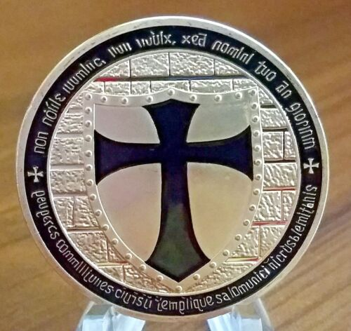 Knights Templar coin, Soldier of Christ Deus Vult special