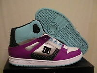 Women's Dc Skate Shoes Rebound Hi Size 8 Us With Box