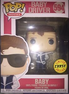 Baby #594 LIMITED CHASE VARIANT VERSION New Funko Movies Baby Driver POP