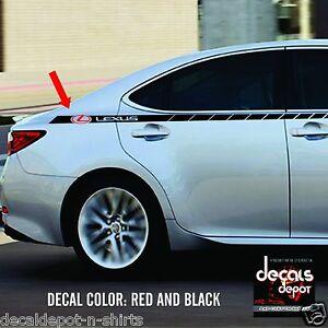 Decal-vinyl-Stripes-Fits-Lexus-is250-RX350-is300-es300-es350-gs300-rcf-is