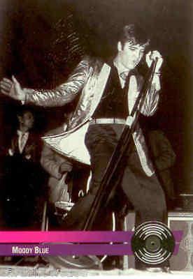 Elvis River Group Jumbo Series Gold /& Platinum Hit Record Card R11
