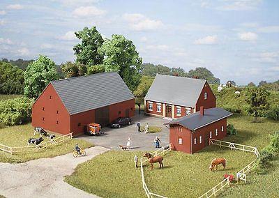 Auhagen H0 11439: Fattoria-abitazione, Fienile, Stalla-mostra Il Titolo Originale