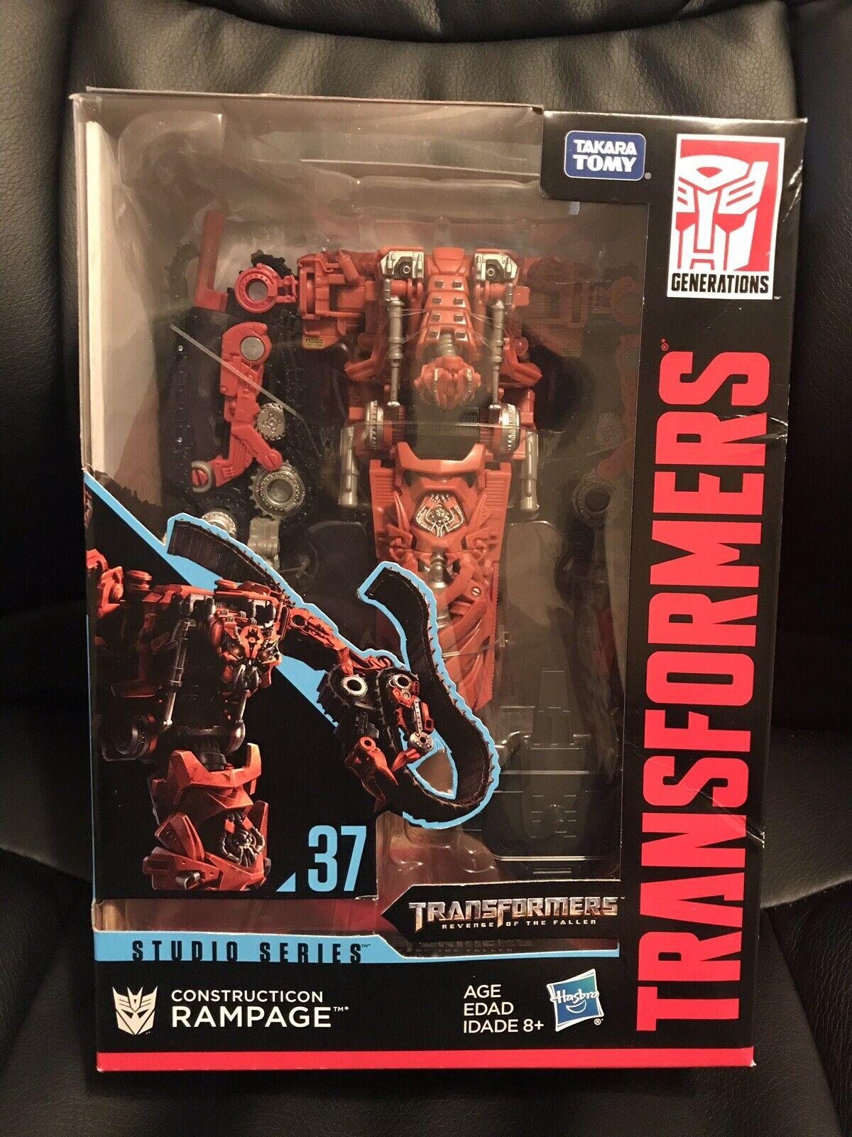 Transformers Movie Studio Series Voyager Class - Constructicon Rampage