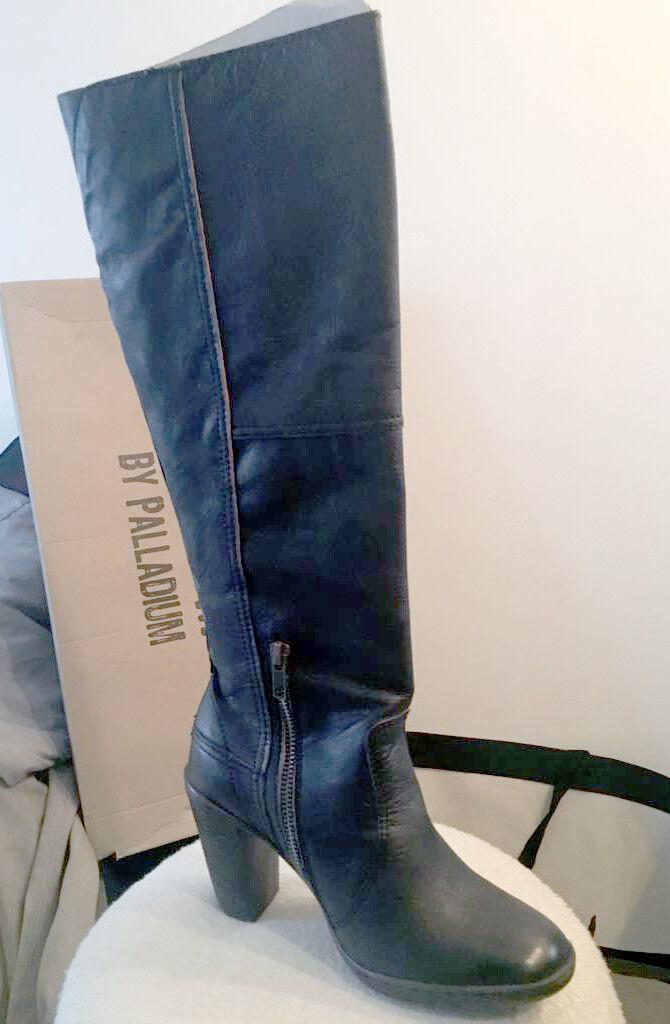 Palladium botas en cuir pour femme pointure 38 - NEUF