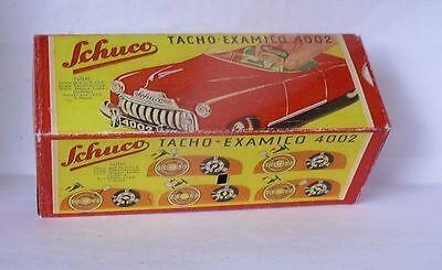 Autos & Lkw Blechspielzeug Freundlich Repro Box Schuco Tacho Examico 4002 Durchblutung Aktivieren Und Sehnen Und Knochen StäRken