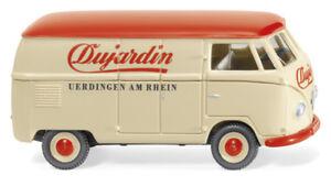 Wiking-pista-h0-1-87-078811-VW-t1-tipo-2-recuadro-carro-034-dujardin-034-nuevo-embalaje-original