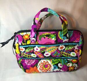 VERA-BRADLEY-Va-Va-Voom-LUNCH-Cosmetics-BAG-Travel-Kit-Cotton