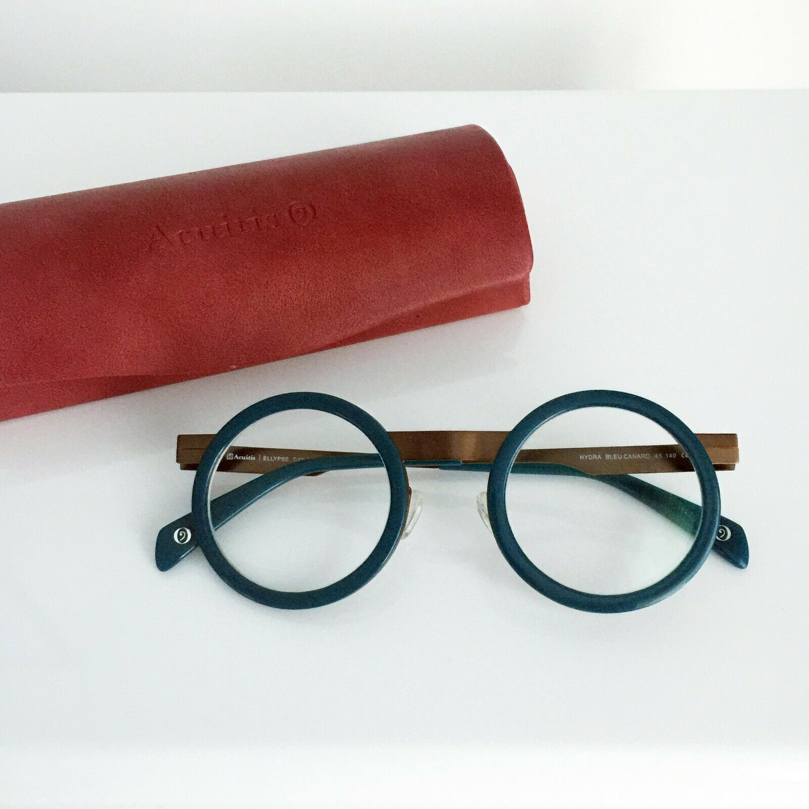 ACUITIS ELLYPSE HYDRA BLUE CANARD Womens Glasses - Used - RRP =