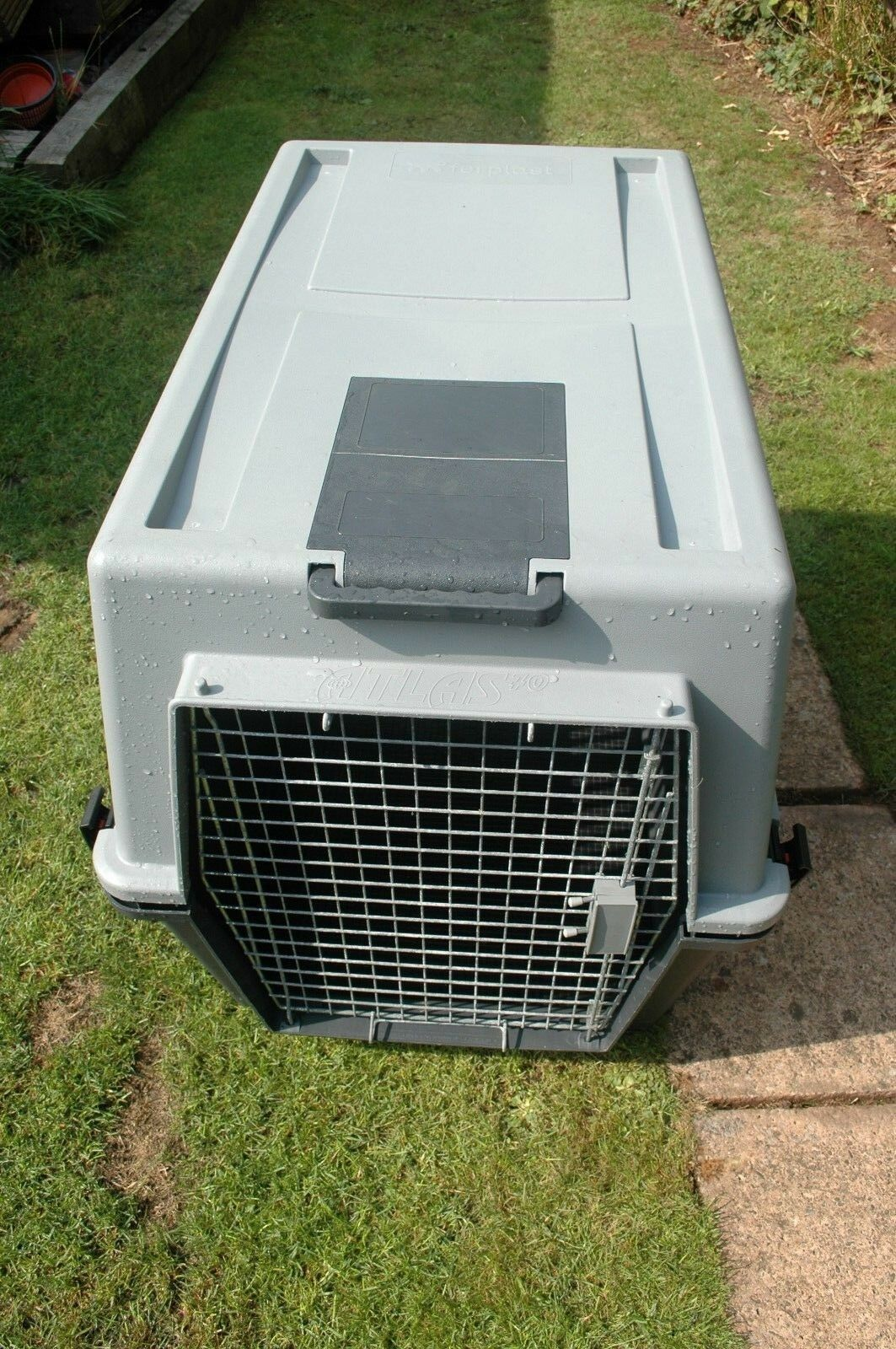 Atlas 70 Large Cage Kennel For Dog Transportation Or Puppy Training German Shep