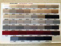 1988 Cadillac Eldorado Biarritz Foam-backed Cloth Headliner Material, Any Color