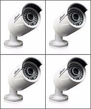 Swann SRNHD-815WB4-US NHD-815 3MP Super HD Security Cameras Night Vision- 4 Pack
