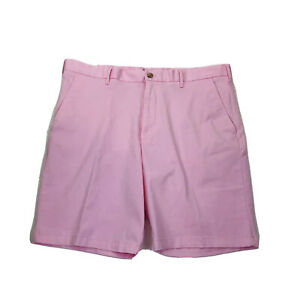 IZOD Mens Size 40 Saltwater Stretch Shorts Soft Relaxed 9.5 Inch Chino Shorts