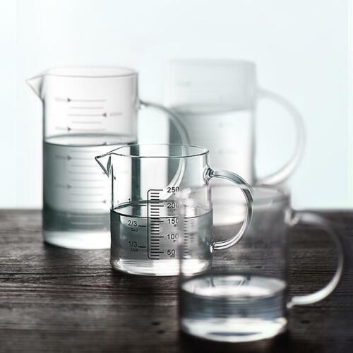 Measuring Cup Glassware Heat-resistant Borosilicate Glass Measuring Cup for