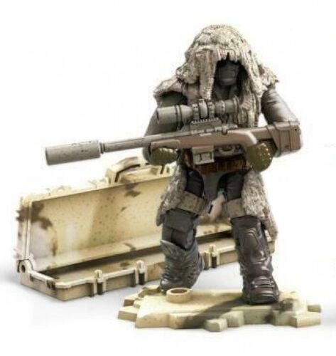 SNIPER FIGURE FROM DESERT SNIPERS VS MERCENARIES Troop Mega Call of Duty GCP06