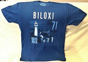 HARD ROCK CAFE BILOXI BLUE ALTERNATIVE CITY TEE T-SHIRT SIZE ADULT X-LARGE NEW