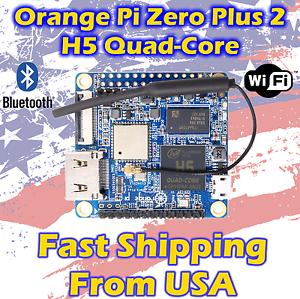 Upgrade Version Orange Pi Zero Plus 2 H5 Bluetooth 512mb