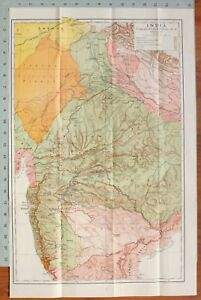 MAP-BATTLE-PLAN-INDIA-LAKE-amp-WELLESLEY-CAMPAIGN-1803-6-SIKH-STATES-MAHRATTA