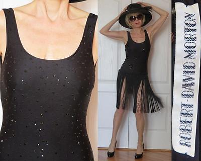 ROBERT DAVID MORTON FLAPPER GASTBY LEOTARD FRINGE DRESS Dancing With the Stars 4