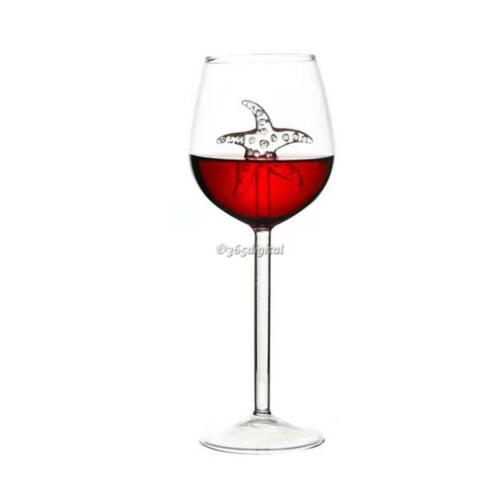 Creative Elegant Red Wine Glass Goblet Cocktail Glass 35DI